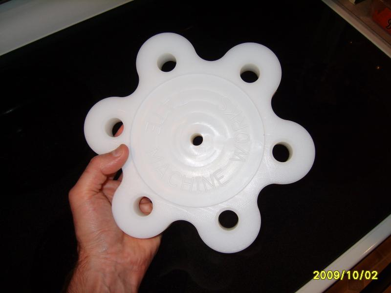 Revolving tool holder plastic